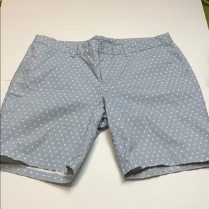 Khakis by Gap City 9 Inch Dotted Bermuda Shorts